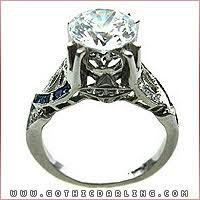 Gothic Wedding Rings by Delightful Gothic Wedding Rings 1 Gothic Wedding Ring 2296