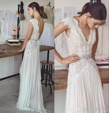 wedding dress brand discount boho wedding dresses lihi hod designers 2018 v neck