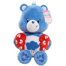 valentines bears care bears plush grumpy walmart