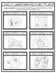 15 best images of social studies landform worksheets 3rd grade