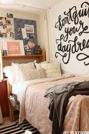 a college dorm room makeover to add personality dorm room