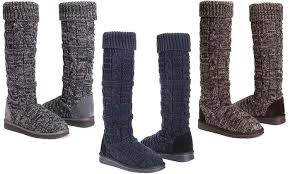 groupon s boots 54 on muk luks s shelly boots groupon goods