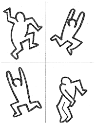 Keith Haring Figure Templates keith haring figures keith haring figures raising arizona