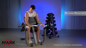 xmark seated preacher curl xm 4436 great bicep workouts youtube