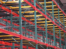 push back pallet racks ak material handling systems