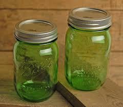 ball mason ball vintage collection green pint mason jars