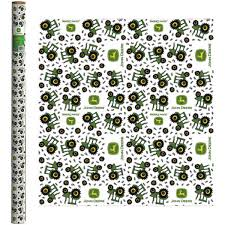 gift wrap paper deere green tractor wrapping paper lp51677