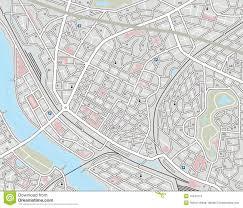 city map any city map royalty free stock image image 15544116