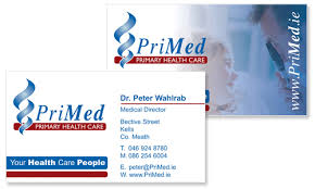 Medical Business Card Design Business Cards Dublin Sample Portfolio