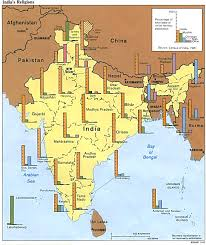 Bhopal India Map by