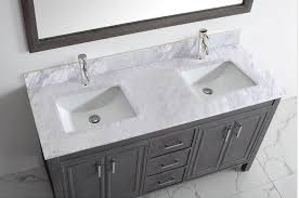 studio bathe corniche 60 inch double bathroom vanity french gray