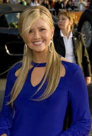 hair bangs tucked ear nancy o dell long hair with a veil of fringe and partially