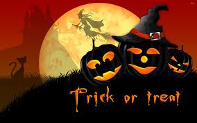 dark halloween wallpaper dark pumpkins trick or treat happy halloween wallpaper