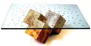tidal cube coffee table hawley design furnishings