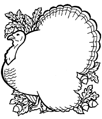 thanksgiving coloring pages free printable pictures sheets