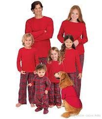 2018 new year family matching pajamas pjs sets