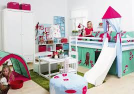 chambre enfant toboggan lit mezza évolutif basic h105 toboggan hoppekids file dans