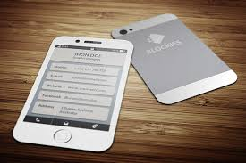 iphone business card how to create multimedia digital business