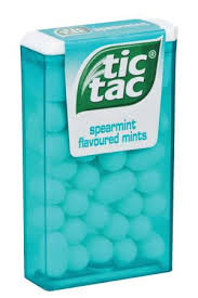 tic tac tic tac spearmint 16g the new nation education company