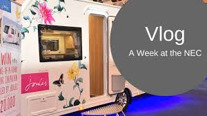 home design show nec vlog a week at the nec caravan cing motorhome show 2017 youtube