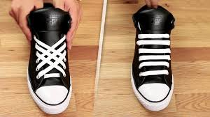 10 Little Ways To Sneak 5 coolest ways to tie shoe laces youtube