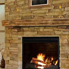 pearl mantels 60 shenandoah unfinished fireplace shelf by pearl mantels
