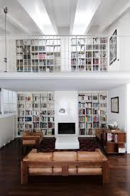 White Library Bookcase by Interior Super Contemporary Home Library Interior Design With