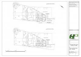 ground floor extension plans double storey extension above present ground floor extension