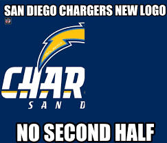 Raiders Chargers Meme - san diego chargers nfl nfl funnies other stuff pinterest
