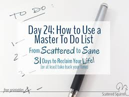 free printable to do list for office to use a master to do list to tame a scattered brain