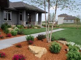 Front Entrance Landscaping Ideas Garden Design Garden Design With Birkus Landscaping Design And