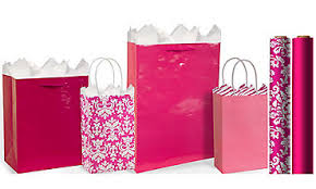 pink gift bags gift bags gift wrap wrapping paper tissue paper party city