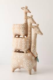 124 best ceramic giraffe images on giraffes