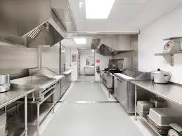 kitchen inspiration industrial kitchens design with silver