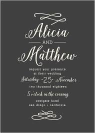 calligraphy wedding invitations wedding invitations without photos