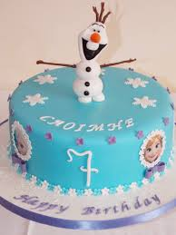 frozen cake with olaf cake topper victoria u0027s heavenly cupcakes