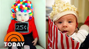 baby popcorn bucket and other last minute diy halloween costumes
