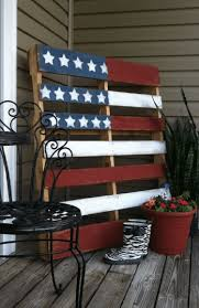 Pallet American Flag 11 Patriotic Projects For The 4th Of July