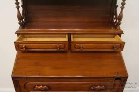 Maddox Tables Secretary Desk by High End Used Furniture Davis Cabinet Lillian Russell Walnut