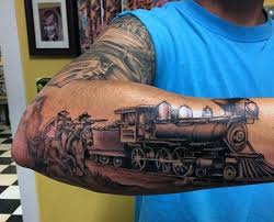 railroad tattoo designs pictures to pin on pinterest tattooskid