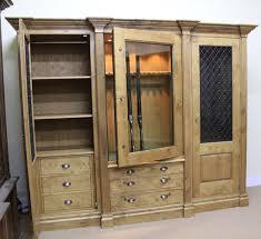 Pine Gun Cabinet The Bespoke Gun Cabinets Company Custom Gun Rooms