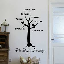wall stickers uk family color the walls of your house wall stickers uk family personalised family tree wall sticker by wall art quotes designs