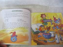 disney u0027s gummi bears the book of yummies christmas cookbook