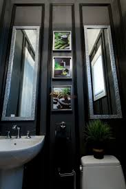 Dark Blue Powder Room Best 25 Black Powder Room Ideas On Pinterest Black Bathroom