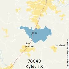 kyle map best places to live in kyle zip 78640
