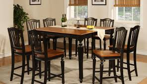 alarming high kitchen table and chairs tags tall kitchen table