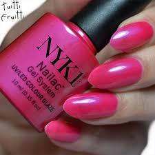 nyk1 uv basics plus nailac gel nail polish starter kit 3 x
