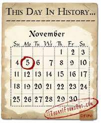 on this day in history this day in history november 5