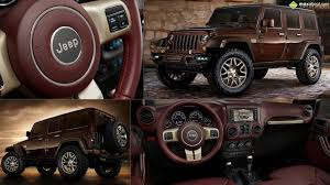 brown jeep jeep wrangler sundancer concept