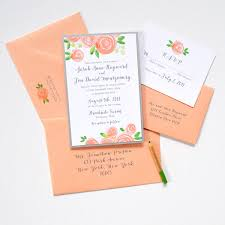 layered wedding invitations blooms layered invitation suite watercolor wedding